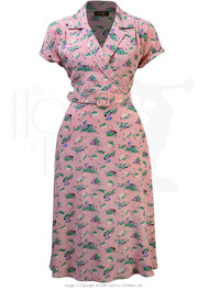 40s Gracie Wrap Dress - Pixie